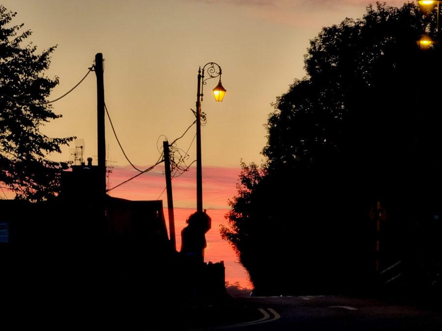 Sunset in Blarney