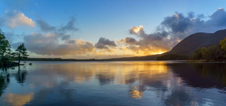 Sunrise over Muckross Lake