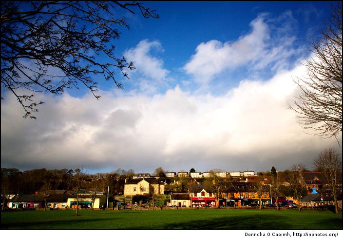 Blarney on a sunny winter day