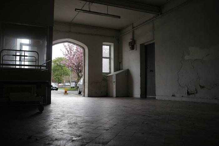 Doorway into the gloom