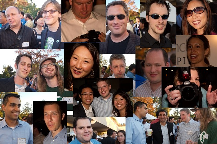 Faces of the TechCrunch Party 2007